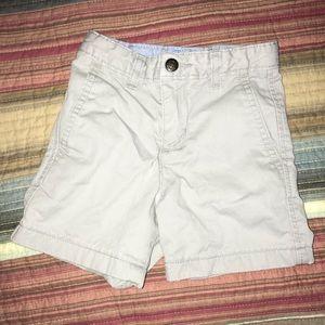 Toddler Boys Khaki Shorts